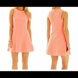 NWT Lilly Pulitzer Kent Dress Cheeky Melon M